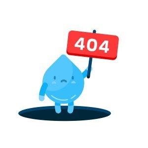 404 error page icon
